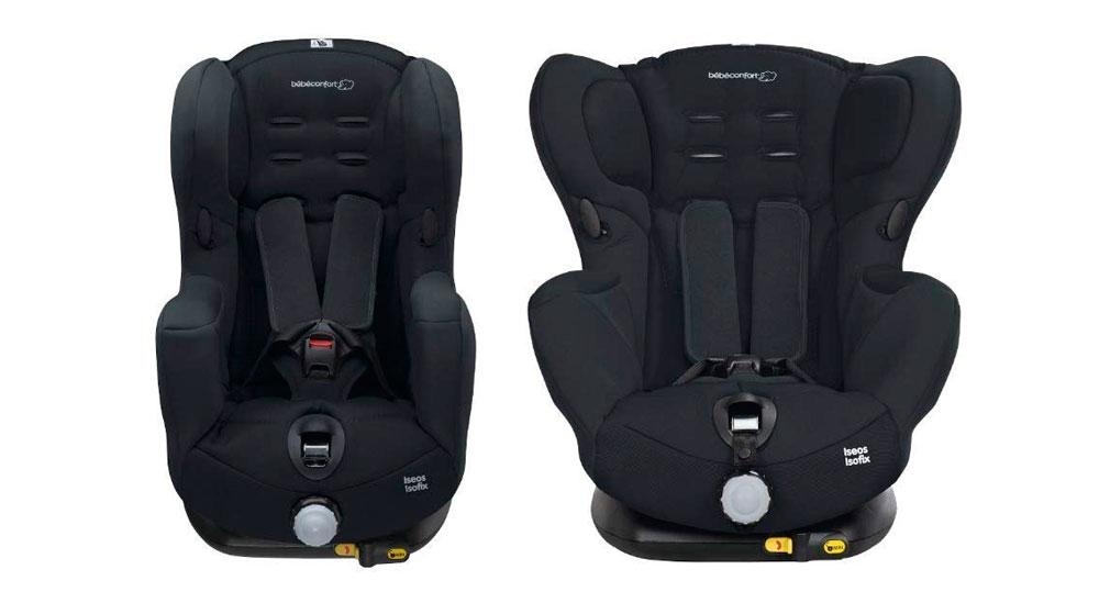 Bébé Confort ISÉOS ISOFIX 'Total Black' - Silla para el coche para niños