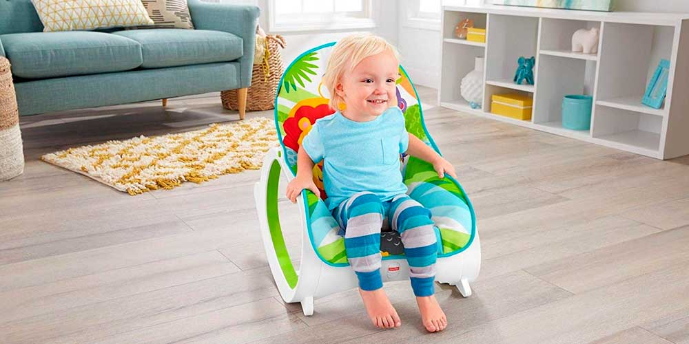 Hamaca Fisher-Price Crece Conmigo Safari, 2019